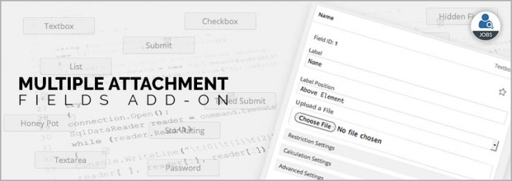 Multiple Attachment Fields Add-on Image