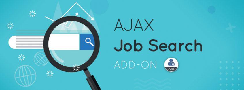 AJAX Job Search Add-on