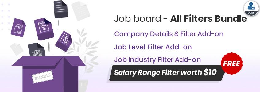 Job Board -All Filters Bundle Offer