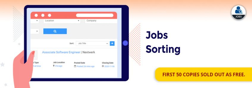 Job Sorting Add-on